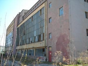 Stary budynek ciepłowni ul. Mielczarskiego