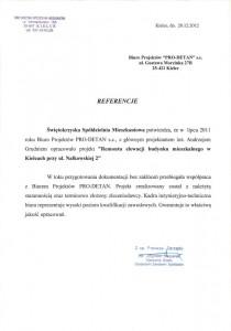 ul. Nałkowskiej 2 - referencje