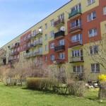 ul. Klonowa 48 Kielce, widok balkonów