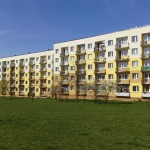 ul. Toporowskiego 83 Kielce, widok balkonów