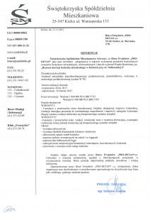 referencje Nałkowskiej 6 Kielce