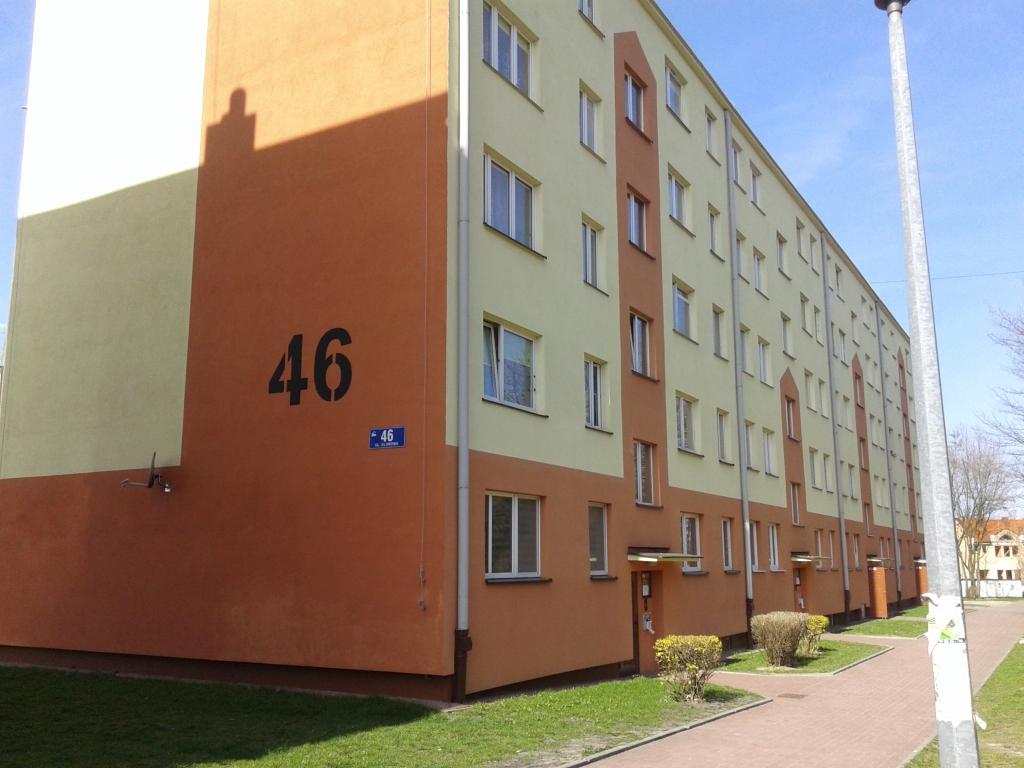 ul. Klonowa 46, remont elewacji