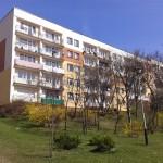 ul. Orkana 26 Kielce, widok balkonów