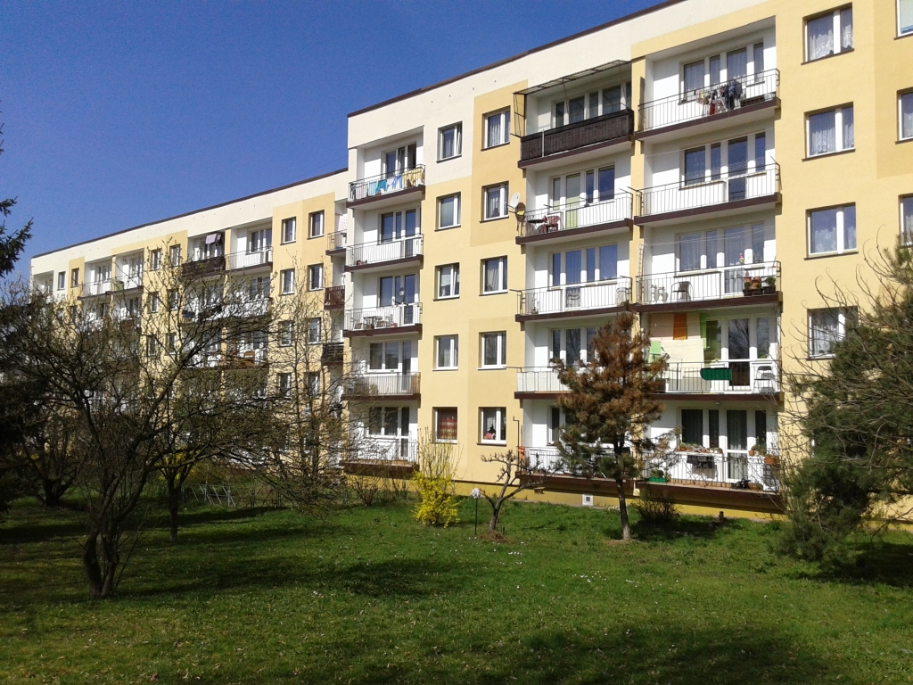 ul. Orkana 5, widok balkonów